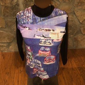 VTG 90s Street Savvy Long sleeve T-shirt. Size L